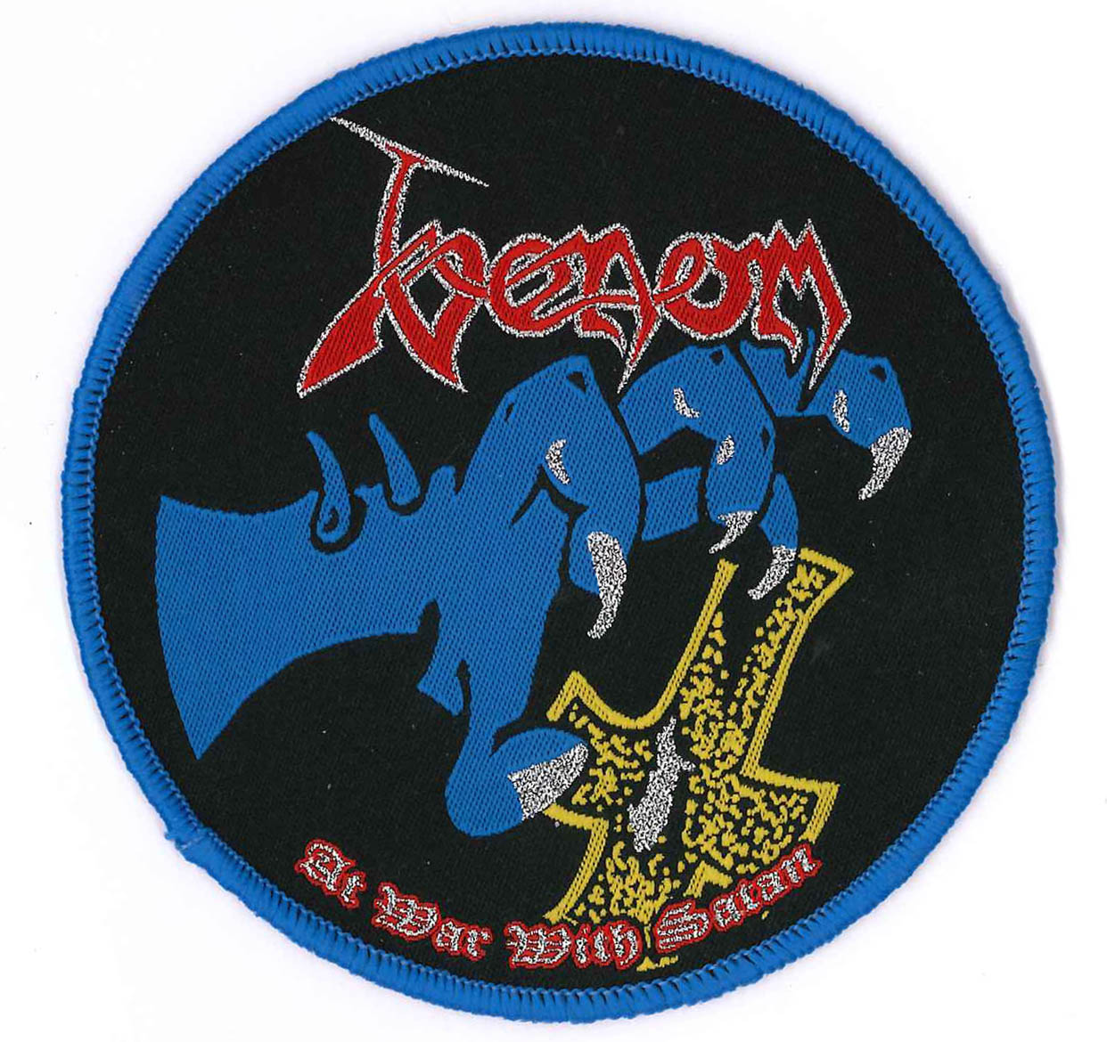 venom black metal rare patch