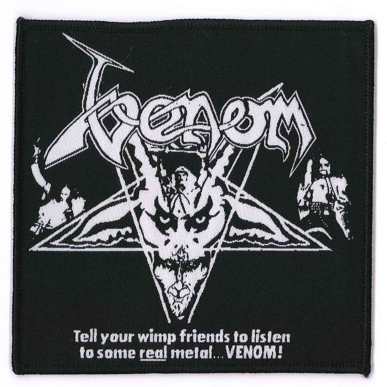 venom black metal collection patch rare