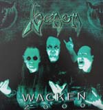 venom black metal wacken 2000 Box set bootleg