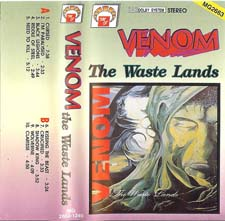 Venom Tapes Collection the waste lands rare tape