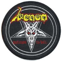 venom black metal collection patch